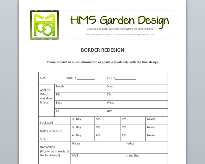 preview - Garden Design Template